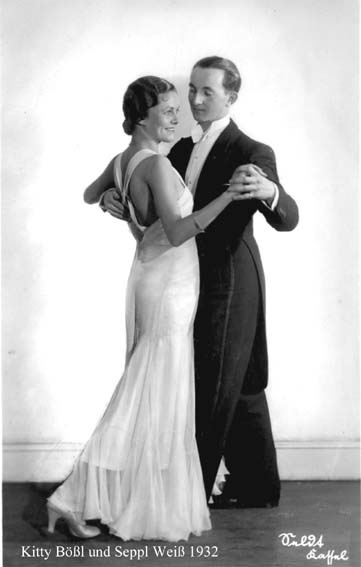 Kitty Bößl und Seppl Weiß 1932
