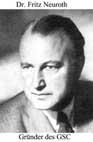 GSC-Gründer Dr. Fritz Neuroth