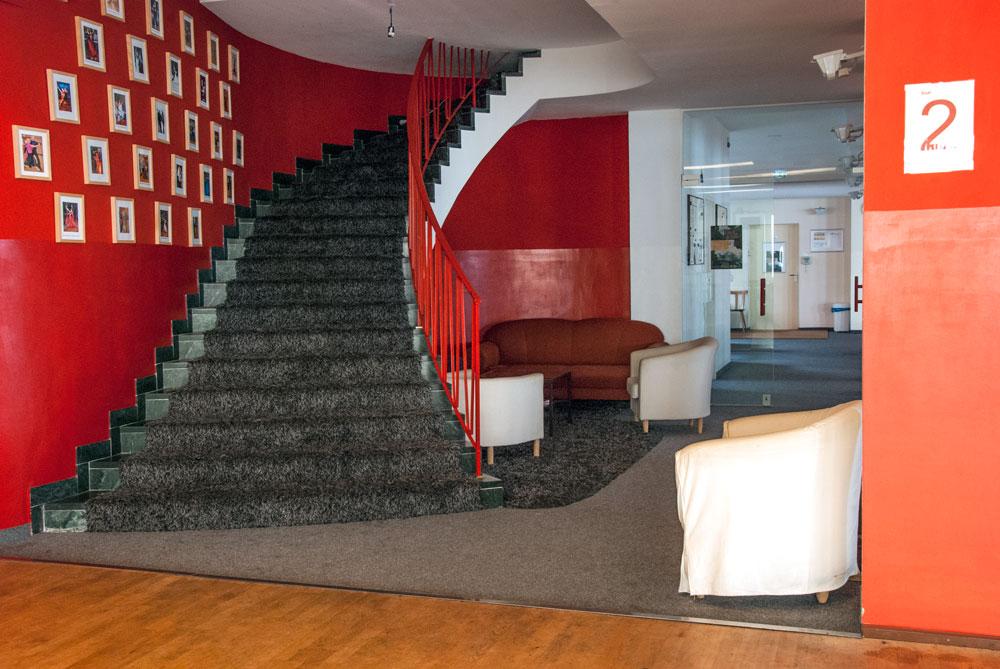 Treppe/Lounge