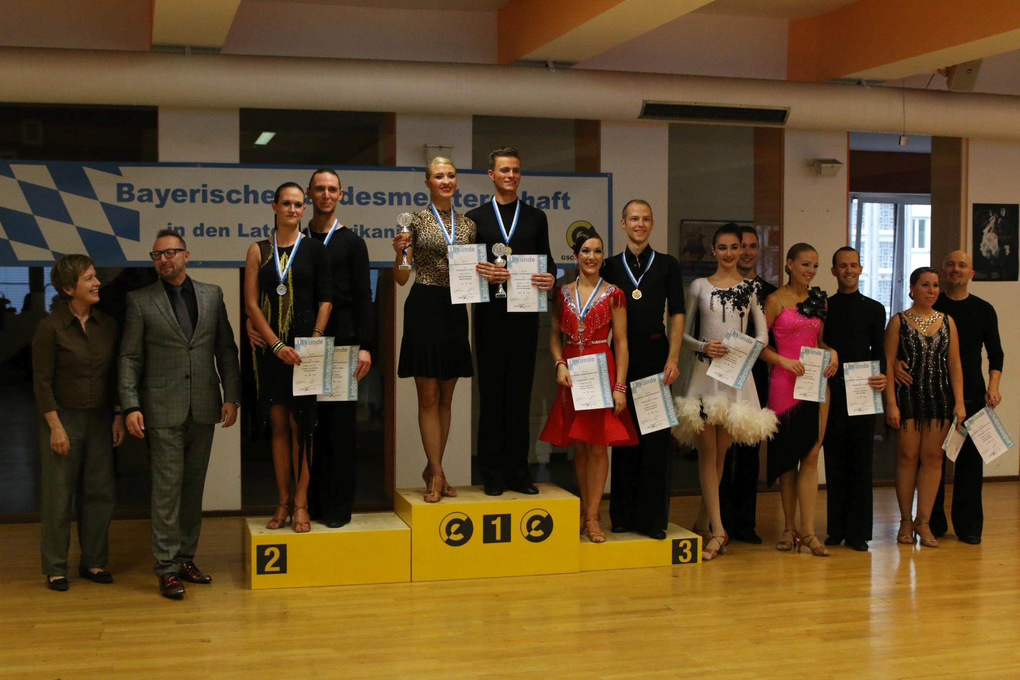 Landesmeisterschaft Hauptgruppe II D-S Latein 2018
