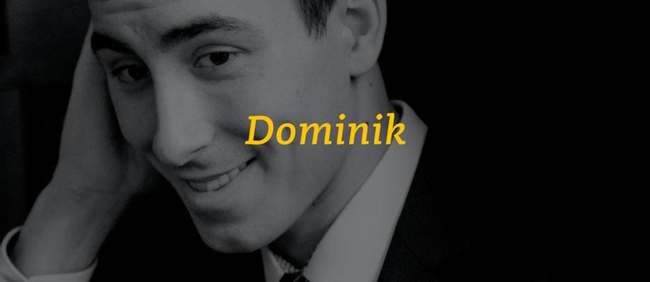 Dominik Fenster - Trainer im Gelb-Schwarz-Casino München e.V.