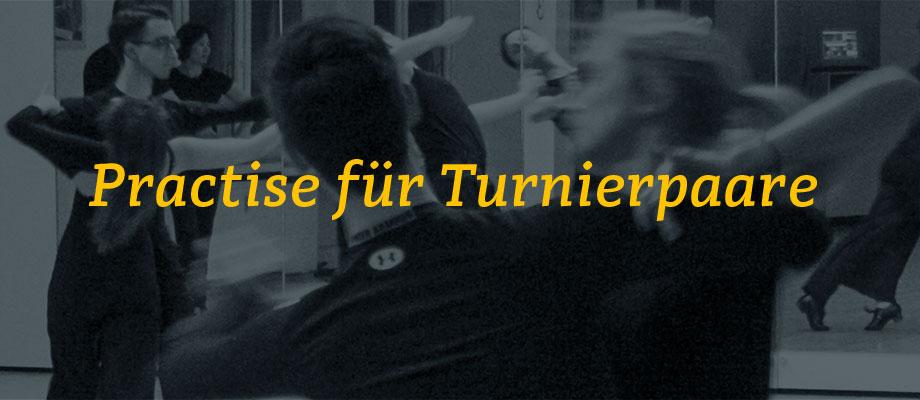 Practise für Turnierpaare im Gelb-Schwarz-Casino München