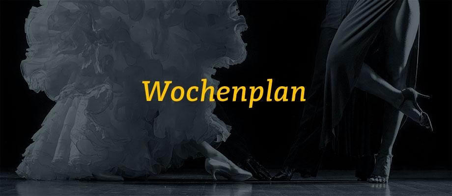 GSC Wochenplan